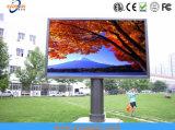 옥외 LED 표시를 광고하는 주조 알루미늄 P13.33를 정지하십시오