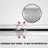 "bomba de agua sumergible del receptor de papel profundo de 1.5HP 240V 4 """