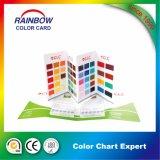 Service d'impression pour la carte de couleur de peinture d'étage d'époxy d'émulsion