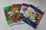Impression bon marché de cahier d'école de livre d'exercice sur papier d'élève en vrac A4 A5