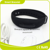 Caloria do podómetro que queima o sono monitorando o bracelete esperto do lembrete de Sendentary