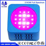 Crecer LED 40W de luz UV de espectro completo con IR para verduras y flores.