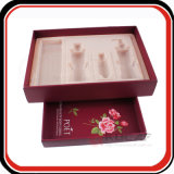 Casella cosmetica impaccante di carta di timbratura calda su ordinazione di marchio