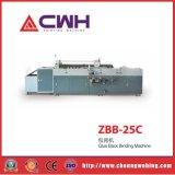 Zbb-25c Endpaper collant l'épine de livre collant la machine de colle de papier de support de dos d'avant de machine