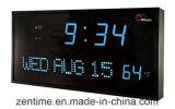 Laisser l'horloge de mur légère de Digitals dans la vente chaude