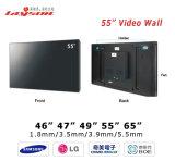 46、49、55、60の構築されたコントローラLCD Videowallのが付いている超65インチのインチの狭いところの斜面