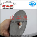 A circular de alumínio de madeira da estaca viu o carboneto de tungstênio das lâminas