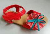 Kid; matériel de PU Ballet sandale