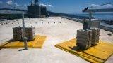 Инструменты чистки и высокая чистка здания подъема и оборудование безопасности