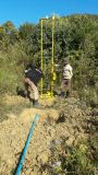 Máquina Drilling automática de poço de água do equipamento de broca Hf150e da energia eléctrica