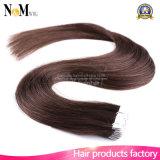 5A OmbreのバージンのRemyの毛の皮のWeft毛私達人間の毛髪の拡張まっすぐなよこ糸のテープ使用できる16の20の22inch 12カラー
