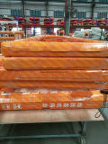 Guichet en aluminium de tissu pour rideaux d'euro de type interruption thermique boisée des graines