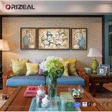 Schilderen van de Douane van Orizeal Muur het Opgezette Abstracte Acryl