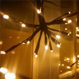 Im Freien wasserdichtes LED-Explosion-Kugel-Zeichenkette-Licht-dekoratives warmes weißes Licht
