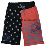 Shorts distintivi per il ragazzo con differenti piedini di pantalone di colore