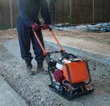 Máquina de vibração de chapa manual Vibrador rodoviário rodoviário para construção e compactador de placas vibratórias