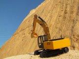 Dessus de la Chine vendant 22 tonnes d'excavatrice hydraulique de roue