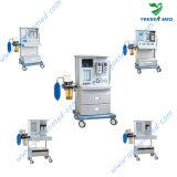 Medizinische mobile preiswerte hoch entwickelte Geräte der Anästhesie-Ysav604