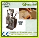 O PLC controla a máquina de embalagem do pó do café
