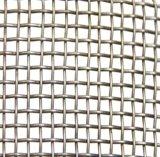 電流を通された正方形の金網の正方形の金網の編まれた正方形の金網