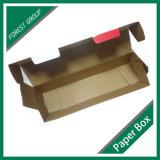 Embalaje caja de cartón ondulado de color grande