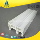Profil sans plomb de PVC de piste du blanc 3 de Hst88-01t de châssis de fenêtre