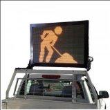 Montagem do veículo Painel de mensagens Sinal de trânsito elétrico Controle de tráfego Gerenciamento de trânsito