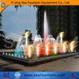 Fontaine brillante multicolore de musique d'éclairage LED d'incendie de Seafountain