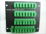 Divisor del PLC del rectángulo de la telecomunicación 1X32 Lgx de Gpon