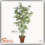 Garten-Dekoration-Plastikprodukt-künstliche Bonsais-glücklicher Bambus