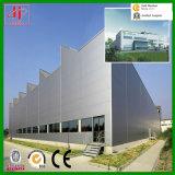 La estructura de acero de fábrica para la exportación