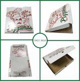 白熱の新しい段ボール紙ピザ包装ボックス