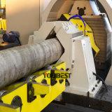 Heavy Duty y cortadora de tubos de ranurado en una sola máquina