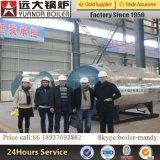 6ton 1.25MPa 13kg 13bar 압력 Alibaba 황금 공급자 가스에 의하여 발사되는 증기 보일러