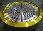 ASTM B171 ASME SB-171 UNS C46400 en alliage de cuivre de feuilles de tube de déflecteurs Tubesheets les plaques de support Les plaques de tube pour les échangeurs de chaleur