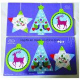 서류상 차 향수 또는 향수 공기 청정제 방향을 거는 크리스마스 선물
