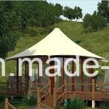 بهيّة كبيرة عرف خيمة يزيّن مع بطانات إستعمال لأنّ عرف خارجيّ [&برتي]