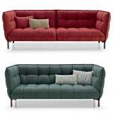 Sofà di vendita caldo del tessuto della mobilia del salone dell'hotel (F1110#-4)
