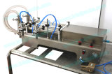 Máquina de rellenar de las boquillas del manual dos para el té líquido (FLL-250S)