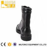 中国Balck本物牛革安い価格のDMSの軍隊の戦術的な戦闘用ブーツ