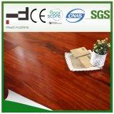 plancher rouge-foncé de stratifié de surface de foulage de 8mm