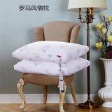 卸し売りホテルのジャカード花の贅沢の枕