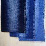 Escuro - tela azul da sarja de Nimes do estiramento (T119)