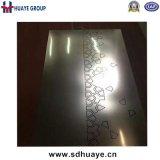 Плита конструкции нержавеющей стали для украшения двери кухни стены лифта