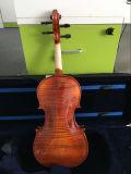 Violon 4/4 d'antiquité de satin de fini de lustre avec la caisse de violon