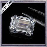 Demande de prix Carat 7.5X5.5mm Clear White Emerald Cut Moissanite Diamond
