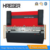 100ton 3.1 máquina de dobra do freio Price/CNC da imprensa da folha da placa do medidor