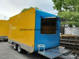 Кухня Van доставки с обслуживанием еды новой конструкции передвижная