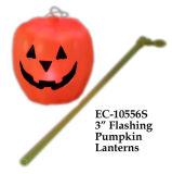 Brinquedo interminável de lanternas de abóbora intermitente