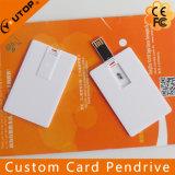 Изготовленный на заказ на заказ кредитная карточка Pendrive логоса с коробкой PP (YT-3101)